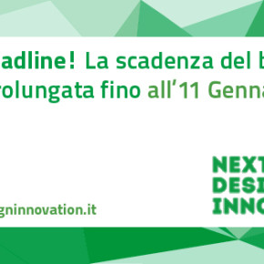 Bando Next Design Innovation: le tue idee alla Design Week 2016 - NUOVA DEADLINE: 11 gennaio 2016