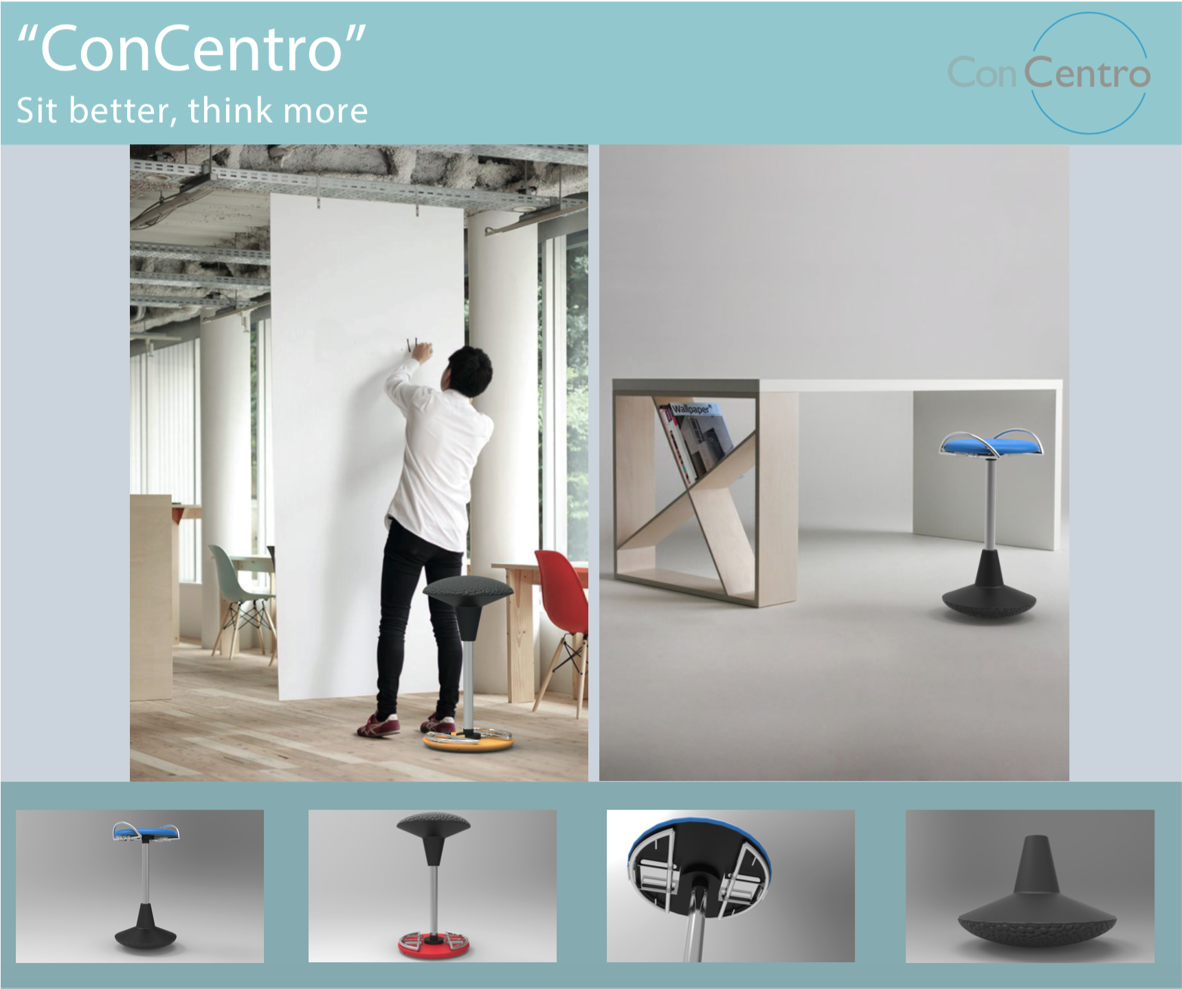 """""""ConCentro"""": sit better, think more"""