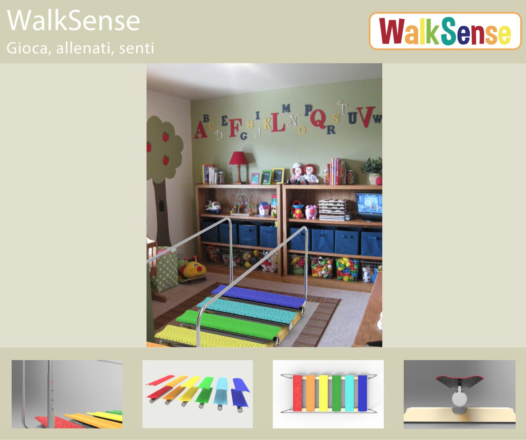 """""""WalkSense"""": gioca, allenati, senti"""