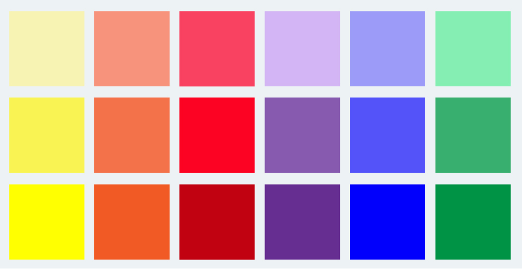 Sensorialita e autismo la vista e i colori gruppo 1 - Che colore dare alle pareti di casa ...