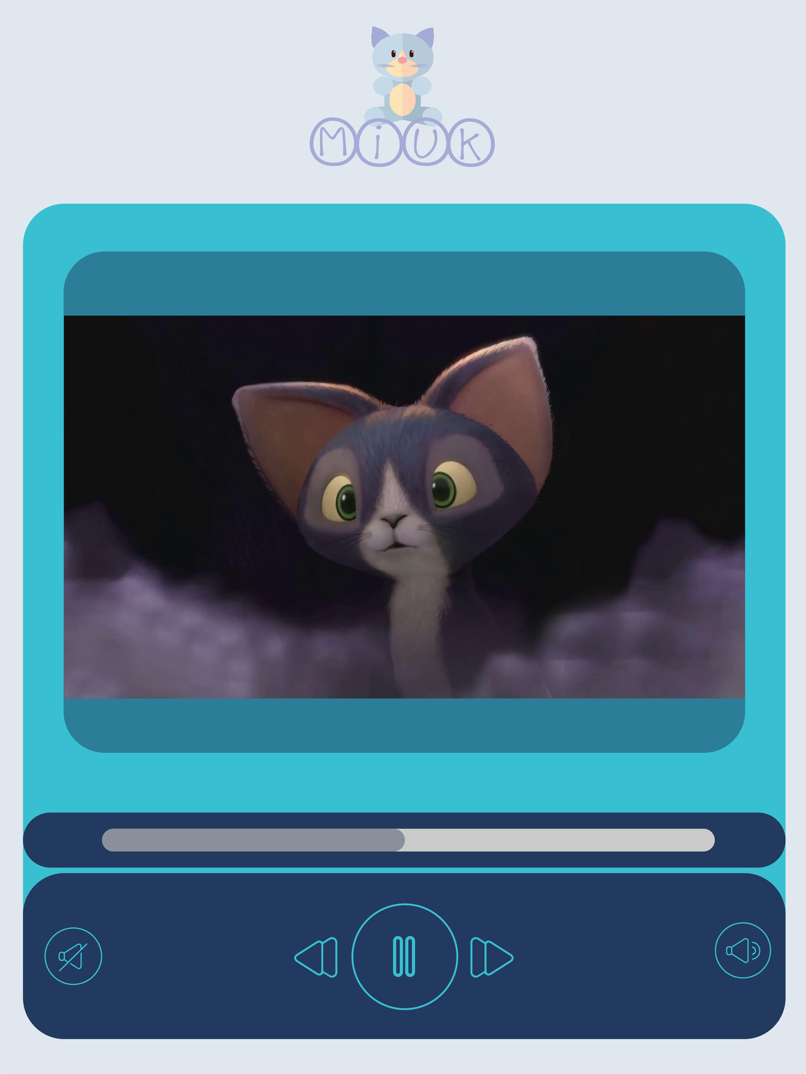 Player del corto animato
