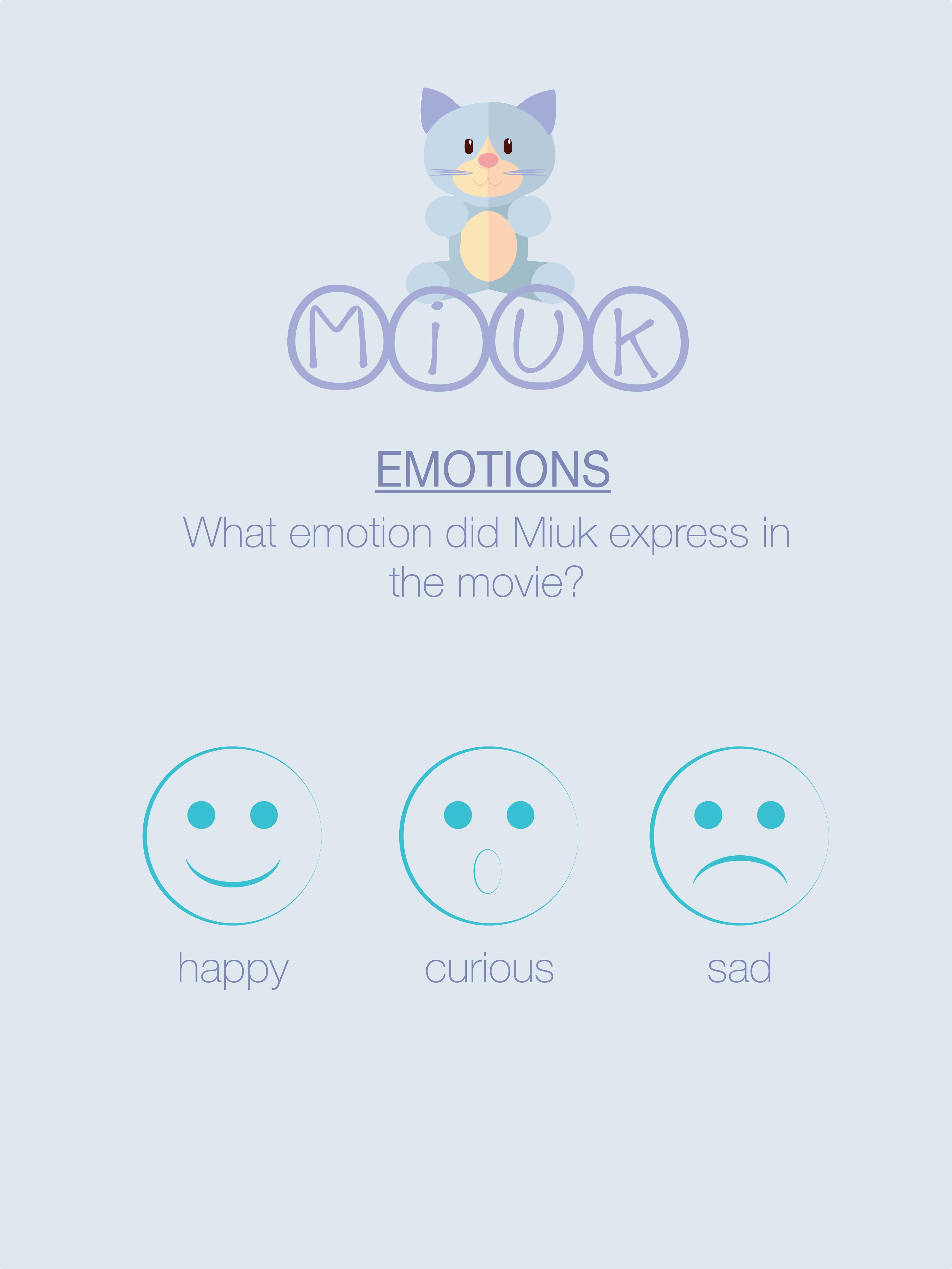 Selezione dell'emozione