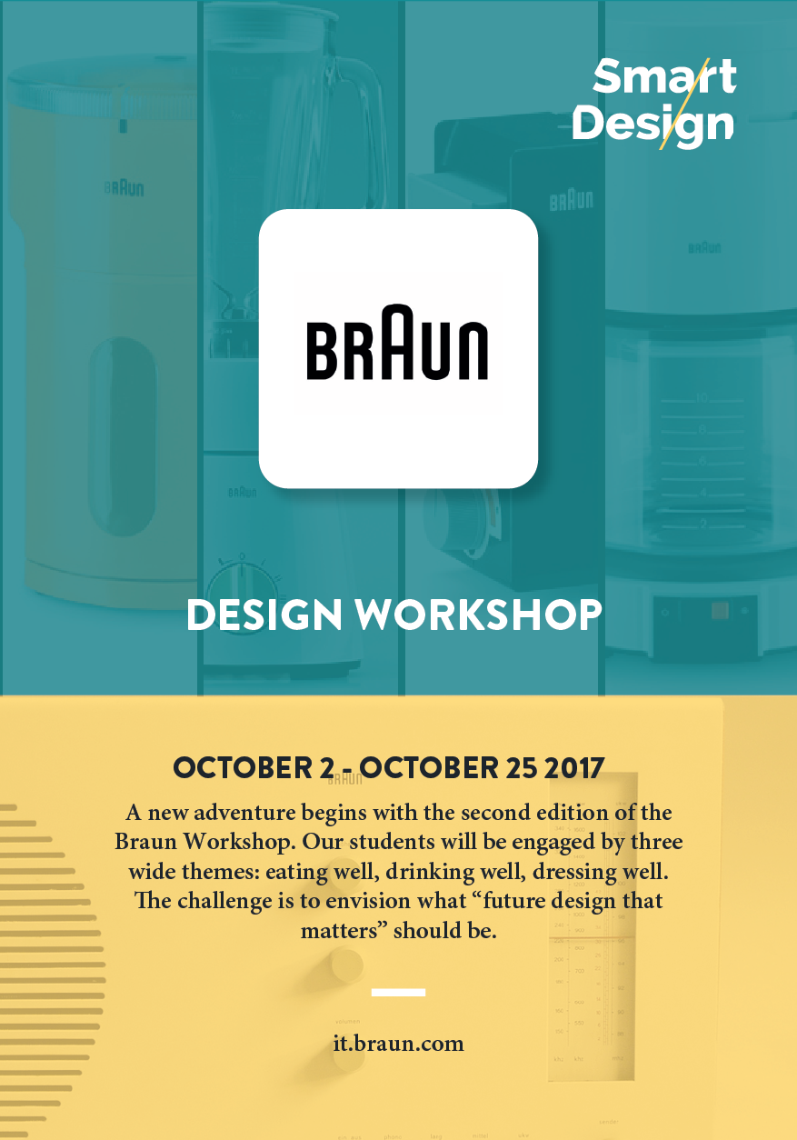 Braun Workshop, an engaging second edition at Smart/Design Lab.